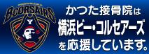 かつた接骨院は横浜ビー・コルセアーズを応援しています。